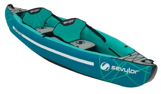Sevylor  Waterton™ inflatable kayak - Grasshopper Leisure, Water sports equipment